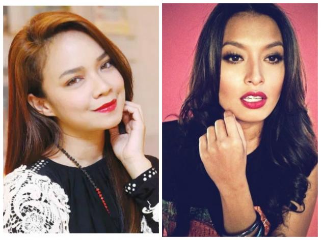 Nora Danish & Nabila Huda Buat Kecoh Di Stesen LRT, info, terkini, hiburan, sambutan hari merdeka 57, sensasi,