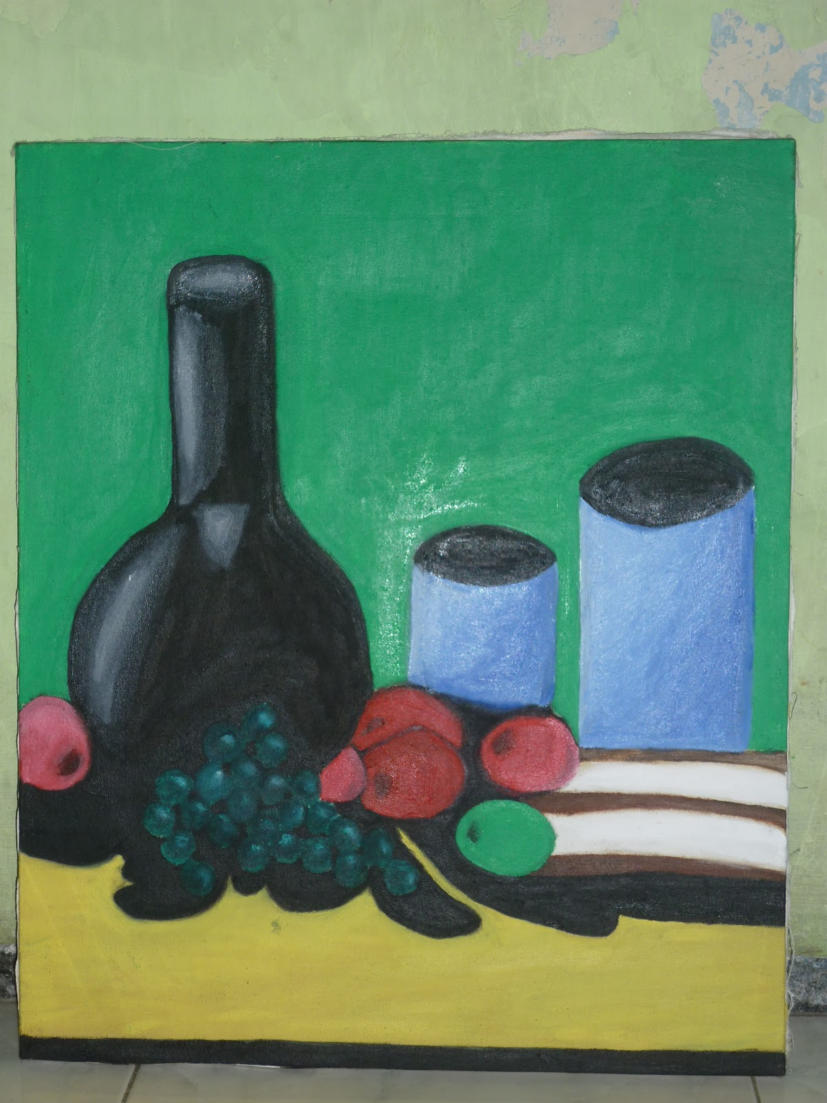 Contoh Lukisan Realisme Brillian Blog