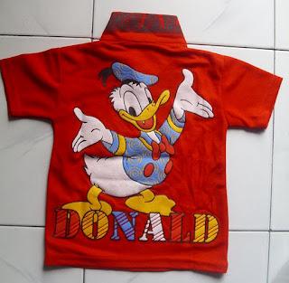 Kaos Krah Donald belakang