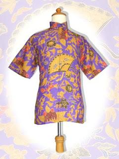 batik+kipas+ungu BAJU BATIK wanita pria dan anak muda