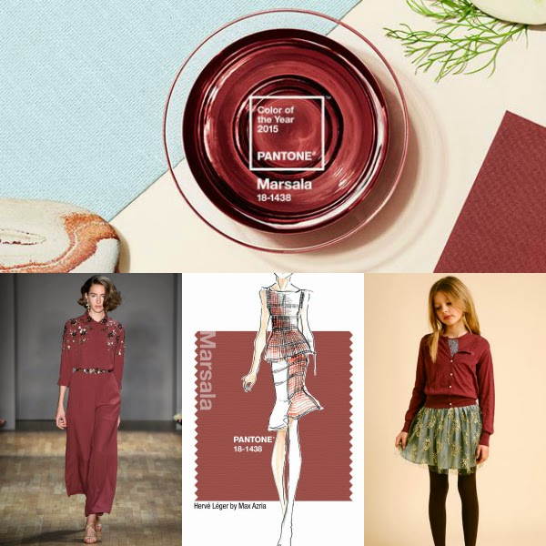 Marsala: dusty burgundy, earthy wine -- whatever you call it, it's Pantone's 2015 Color of