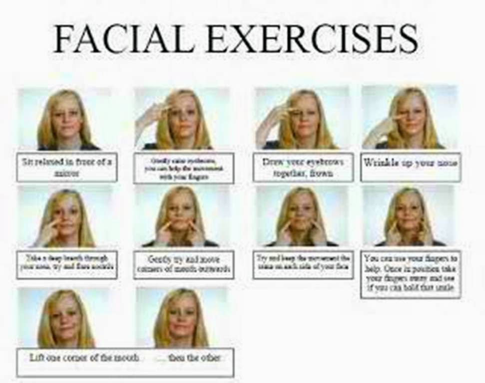 Lookbooks are Exercise facial online