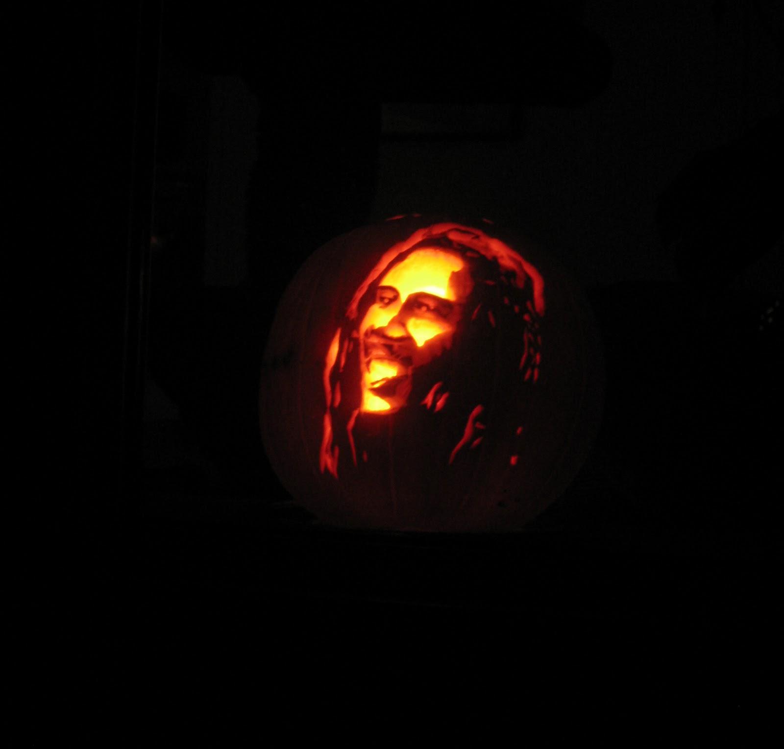 Bob Marley Pumpkin Ste...
