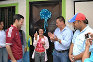 Carlos García entregó casa a Nancy la Fiscal