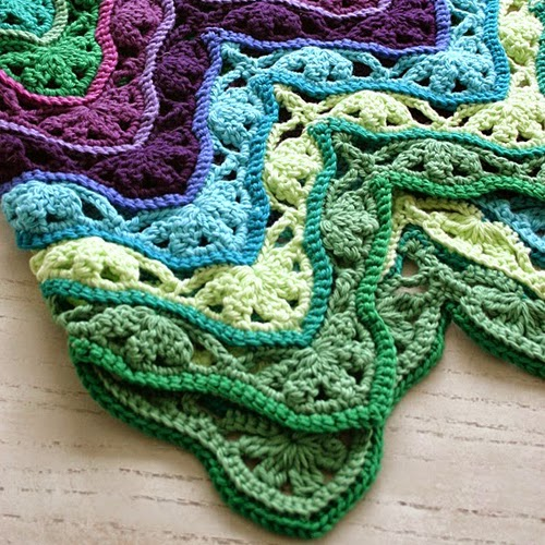 Brighton Blanket Free Crochet Pattern