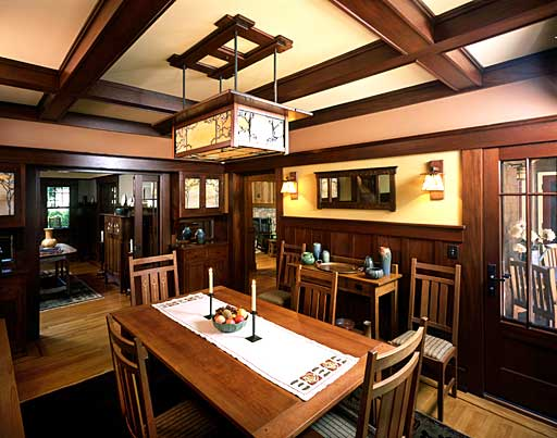 Handcrafted Built In Cabinetry Including Buffets Bookcases And