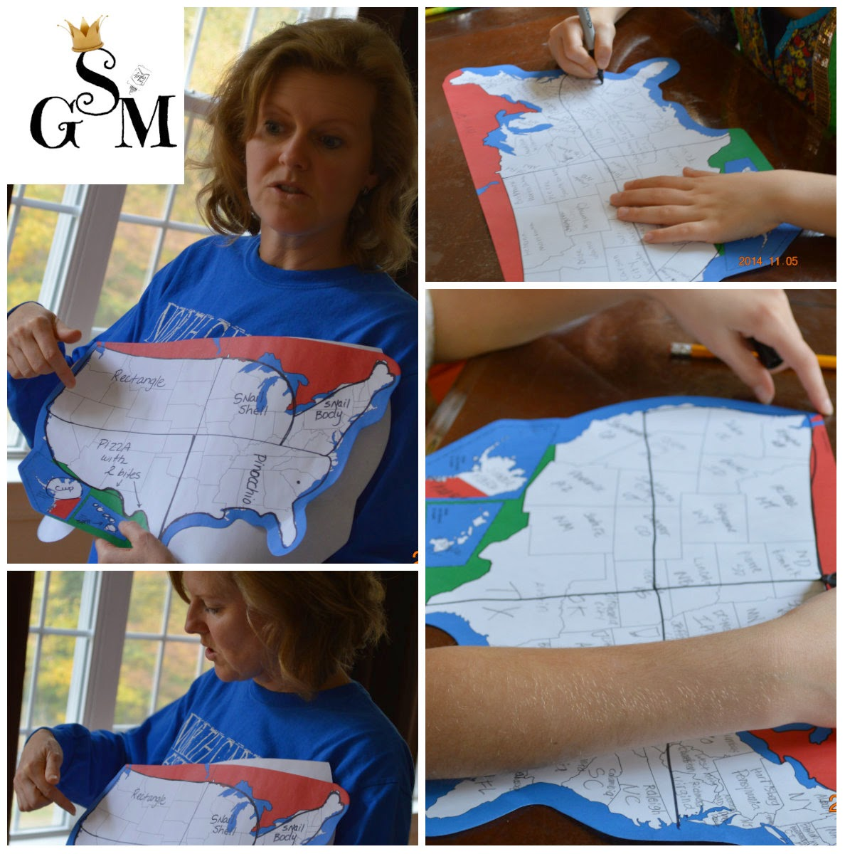 If You Want More Detail About How To Teach The Us Blob Map Then You Can Go Over To My Post On How To Start Young Kids On Drawing The Us Map