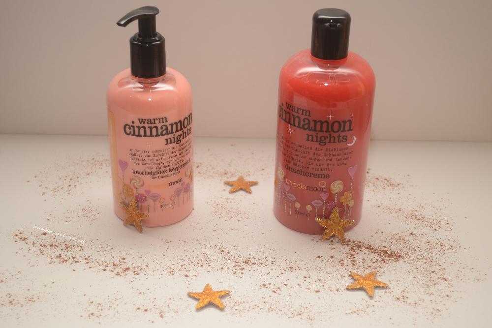 """""""Warm Cinnamon Nights"""" - Duschcreme und Körpermilch von Treaclemoon"""