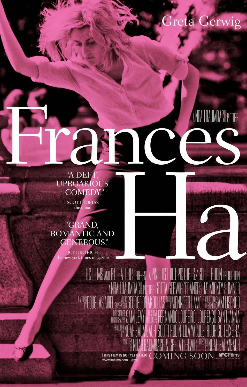 Comentario sobre la película Frances Ha