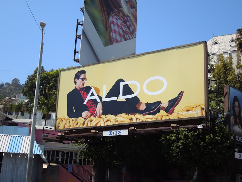 Aldo Shoes bananas bilboard