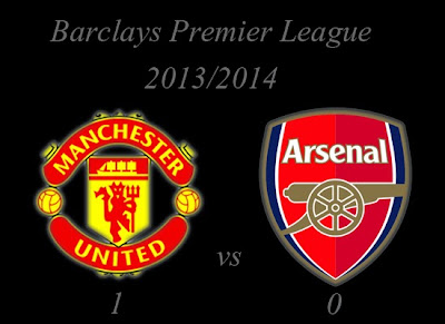 Manchester United v Arsenal Result November 2013