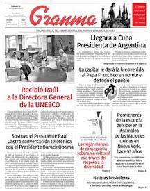 Así espera la prensa cubana al papa Francisco