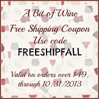 a bit of wine free shipping coupon