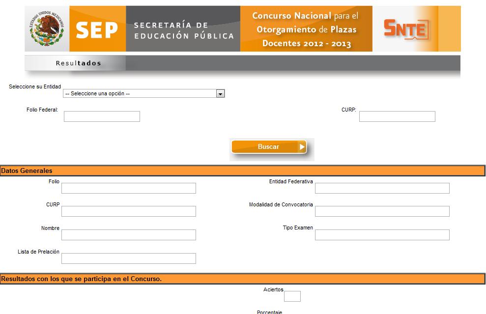 Alianza 2012 resultados 22 de julio SEP