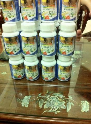 Herbal Tea Diet giúp giảm cân đáng kể