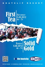 May 6 - First Tea Dance BoatSlip 4p-7pm @boatslipptown