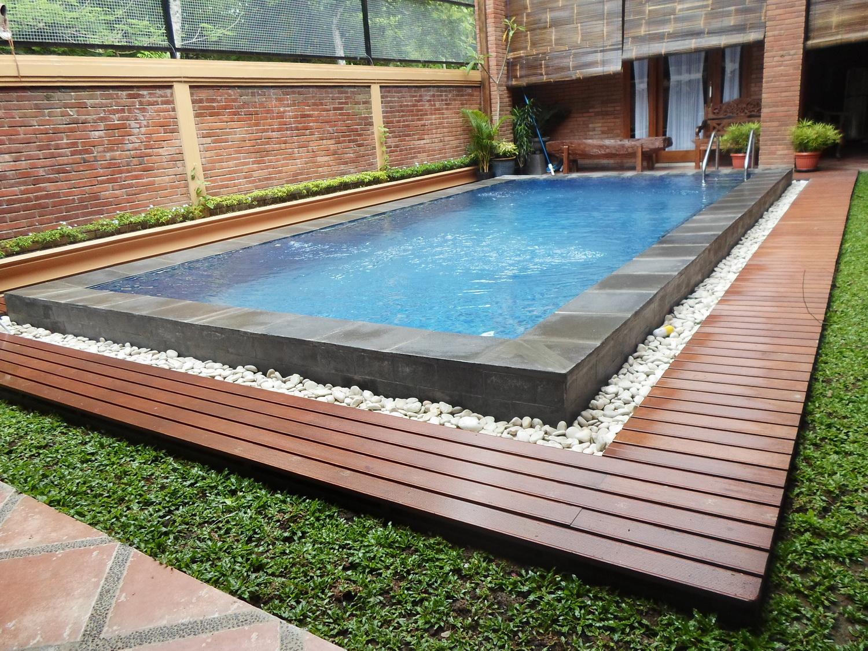 Hasil gambar untuk kolam renang rumahan