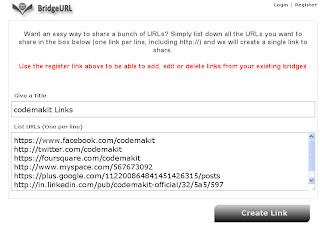 Bridge URL