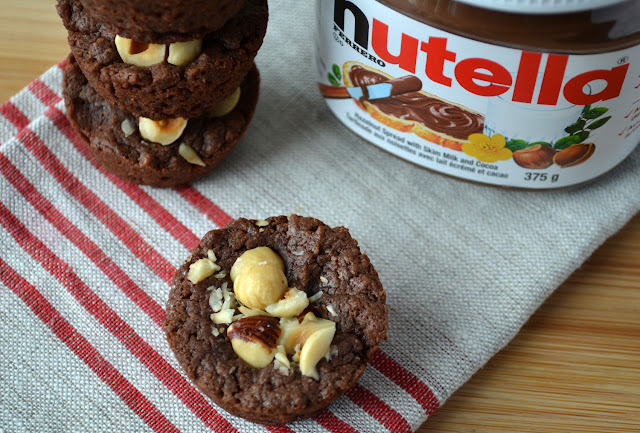 Nutella Brownie Bites recipe