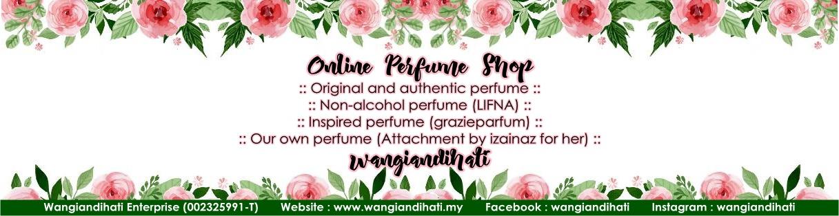 Online perfume shop Wangiandihati