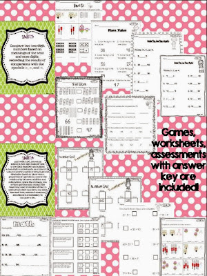 http://www.teacherspayteachers.com/Product/Common-Core-Collection-Numbers-and-Operations-in-Base-Ten-1st-Grade-1032746