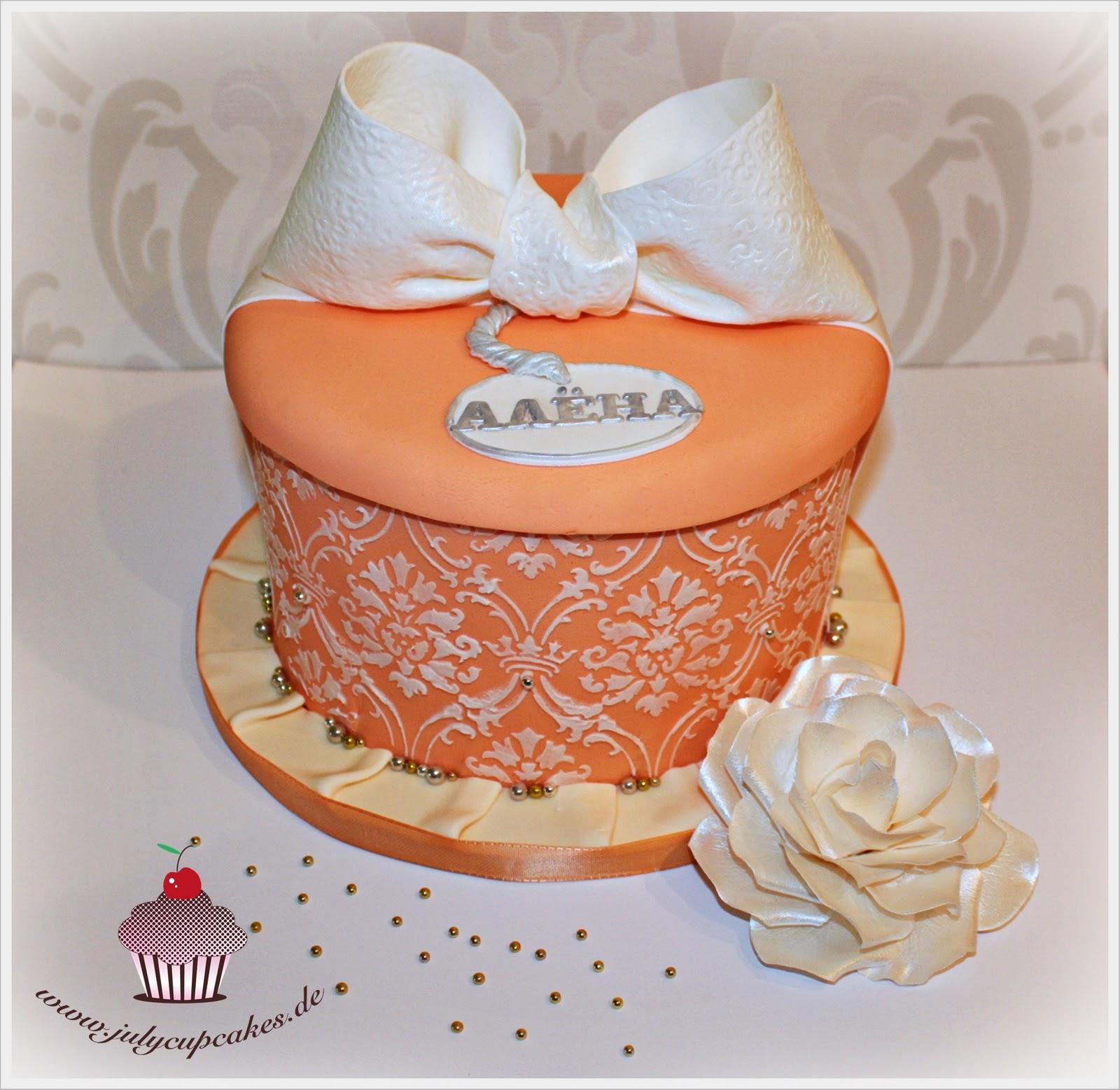 Торт в форме подарка фото
