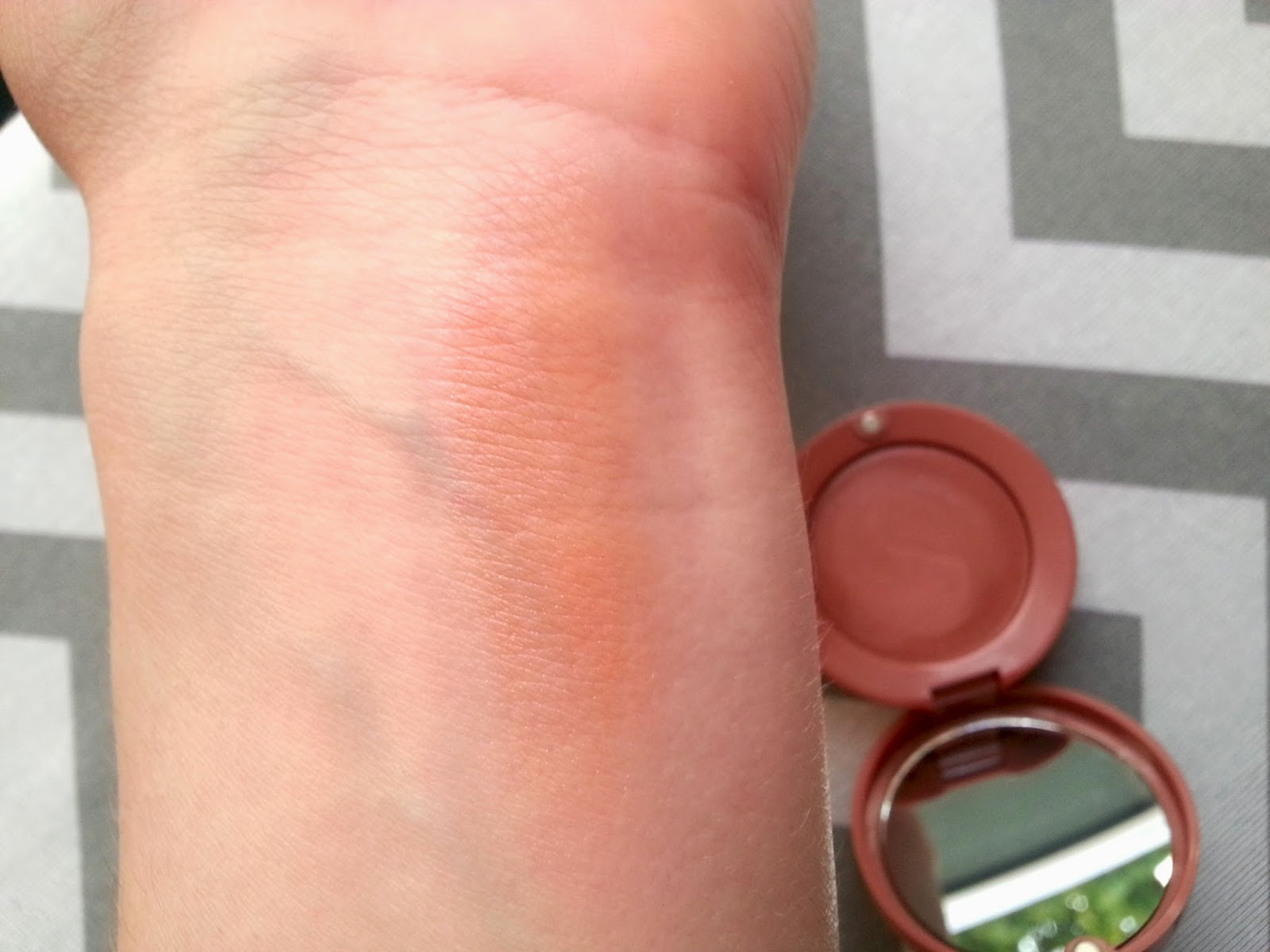 Bourjois Cream Blush in 05 Pink Sunwear Swatches and Review