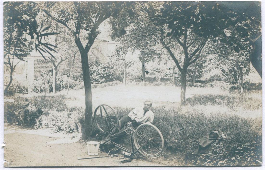 Architectures de cartes postales 2 dubuisson bicyclette - Jean dubuisson architecte ...