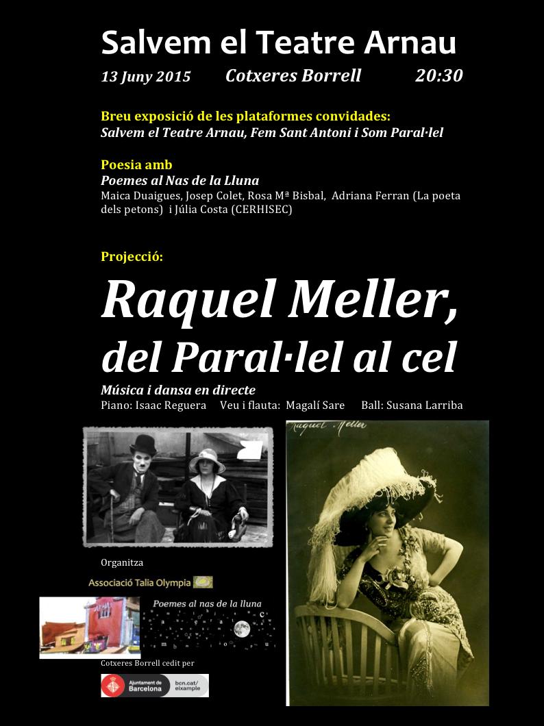 Cartell Raquel Meller