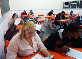 Alunos da EJA participam da Maratona de Matemática