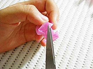 Kerajinan Tangan dari Sedotan, Bunga Dari Sedotan