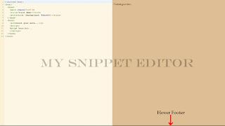 editorHTML