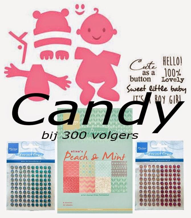 Candy bij Marleen bij 300 volgers