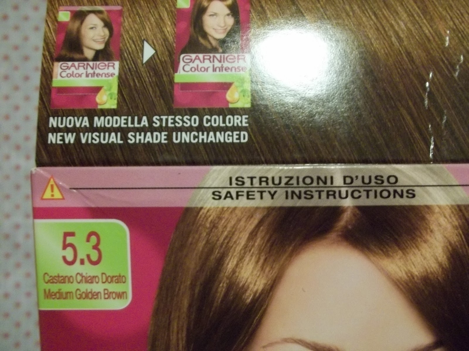 A weekend without make up tintura per capelli garnier color intense