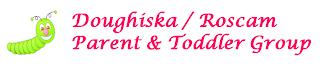 logo for the Doughiska /Roscam mother and baby, parent and toddler support group in the east of galway city