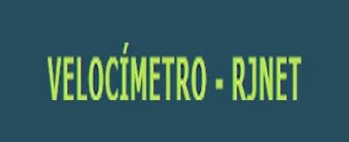 RJNET Velocímetro - Medidor de Velocidade da Internet