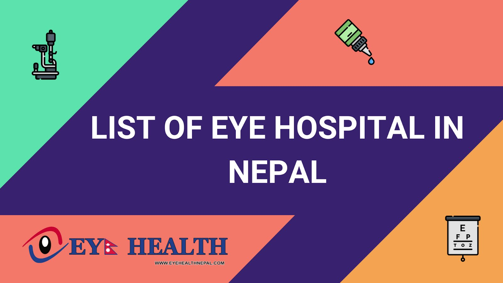List Of Eye Hospital In Nepal Eye Health Nepal Eye Problems Eye