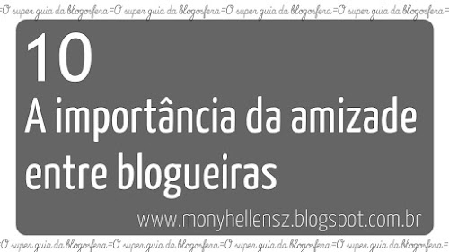 A Importância da amizade entre as blogueiras + Alguns grupos