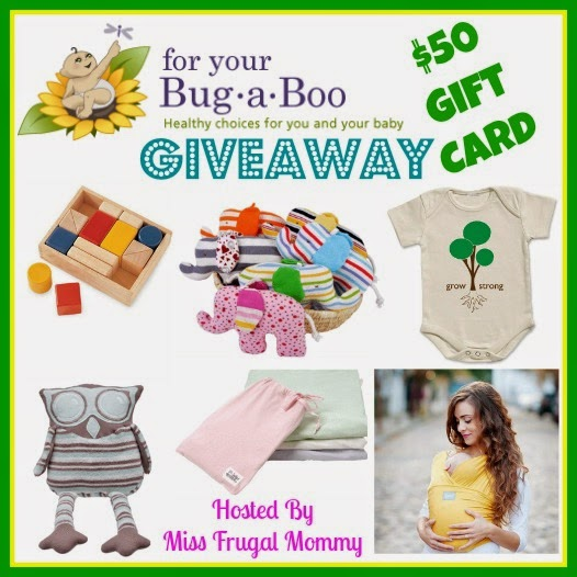http://notquitecrunchymommy.blogspot.com/2015/01/win-50-gift-card-to-for-your-bug-boo.html