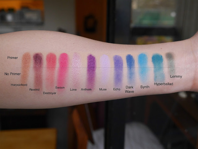 kat von d mi vida loca remix palette swatch review