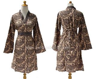 Busana Baju Batik Modern Wanita