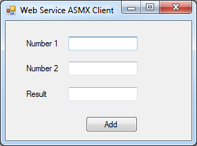 Accessing Web Service asmx from C#