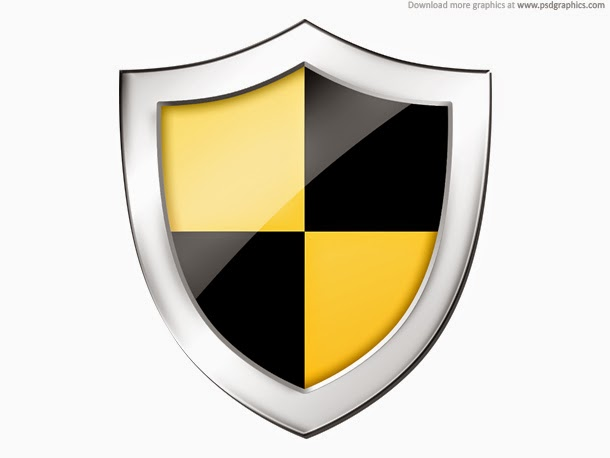 Shield Securtiy Icon PSD