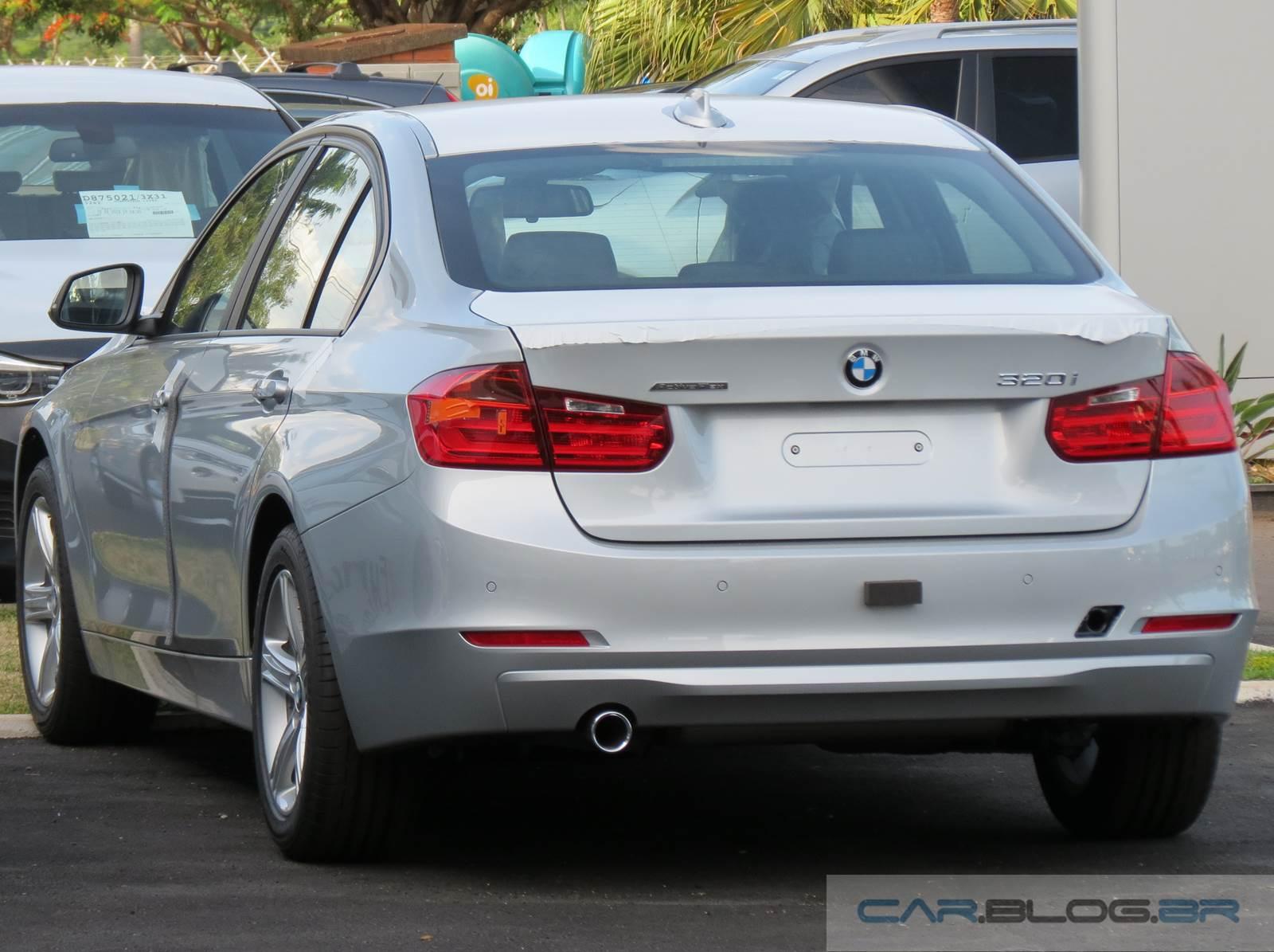 BMW 320i Flex - consumo