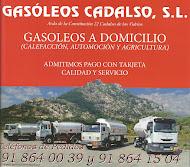 GASÓLEOS CADALSO