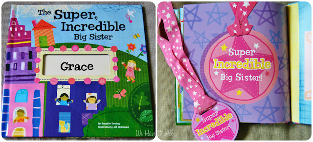 Big Sister Personalized Children's Book