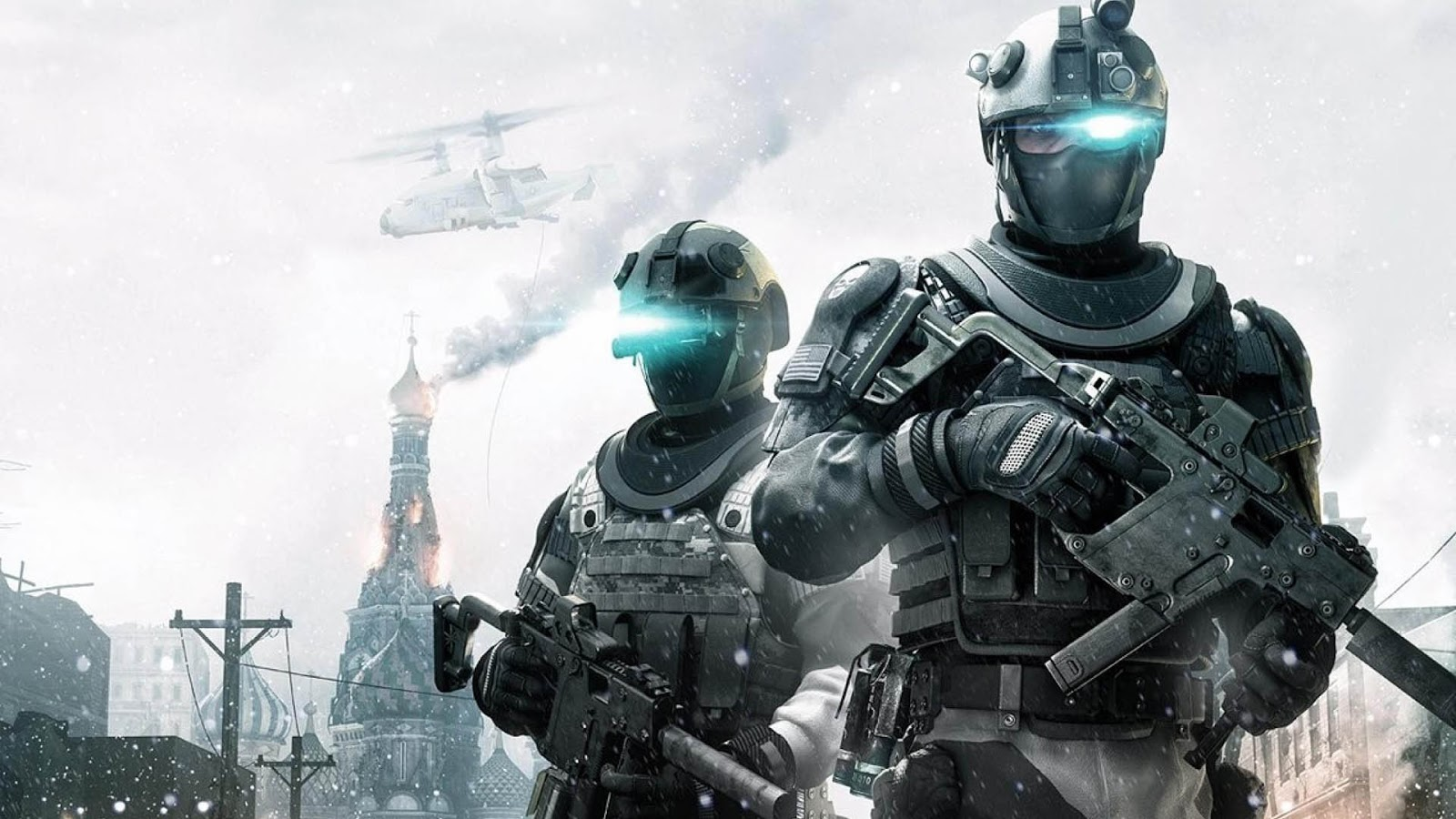 Ghost Recon Future Soldier HD & Widescreen Wallpaper 0.960938338544242