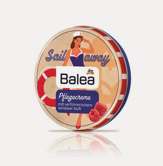 Balea Pflegecreme - Sail Away - www.annitschkasblog.de