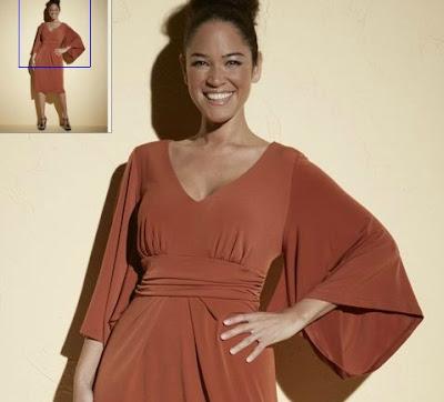 modelo con kimono