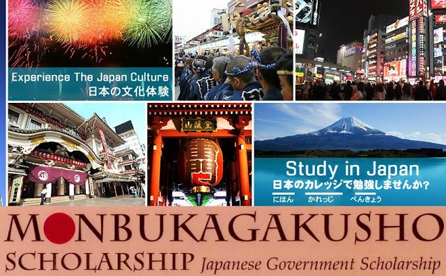 Beasiswa Kuliah Di Jepang 2016 Untuk Pelajar SMA (MONBUKAGAKUSHO)